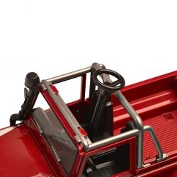 Miniature DEFENDER 90 pick-up rouge 1/16e