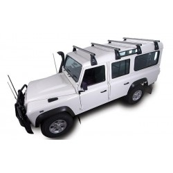 DEFENDER  HEAVY DUTY ROOF BAR RHINO RACK- unit