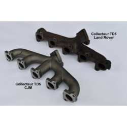 TD5 Performance exhaust manifold