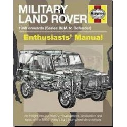 MILITARY LAND ROVER - HAYNES MANUAL