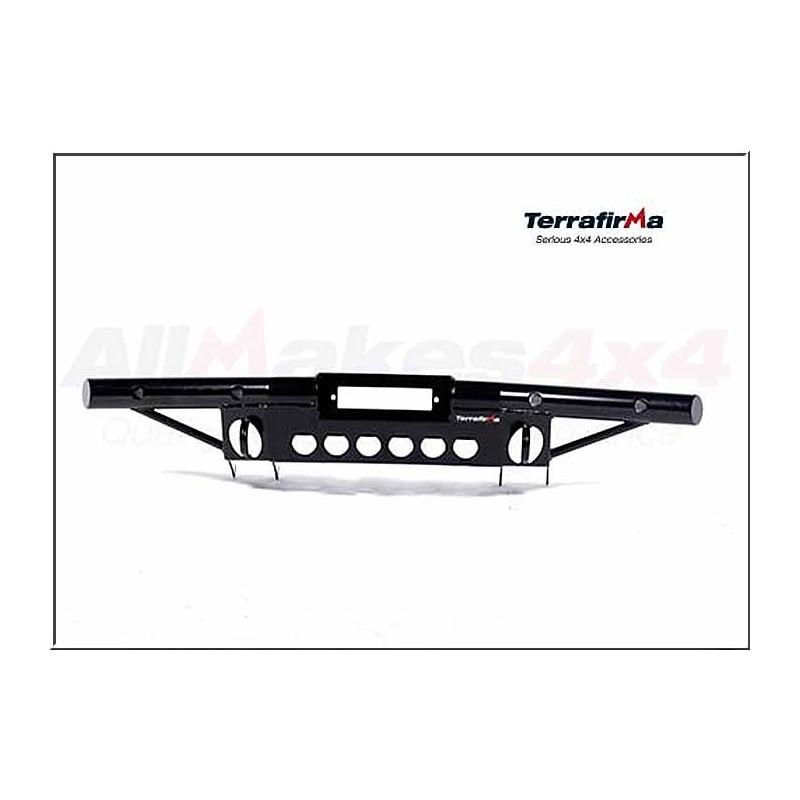 Terrafirma tubular winch bumper with air con DEF