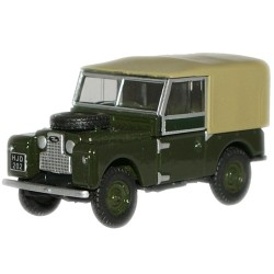 MINIATURE  LAND ROVER 88 CANVAS  VERTE BRONZE 1/76