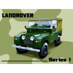 Land rover Serie I  metal sign 30x40cm
