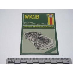 Magnet métal Haynes MGB 1962 à 1980