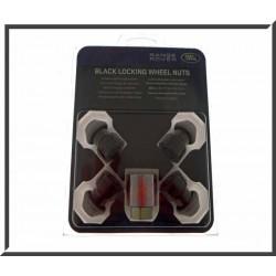 Black locking wheel nuts - RR Evoque