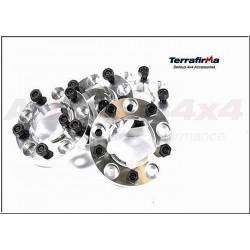 30mm Wheel spacers kit Terrafirma