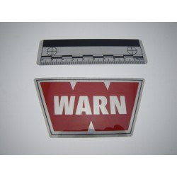WARN STICKER