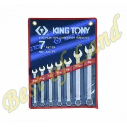 7 pieces combination wrenches kit - King Tony