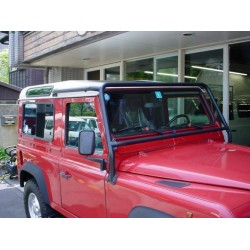 Defender 4 point external bolt-in front roll cage