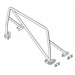 DEFENDER 110/130 HCPU bolt-in roll cage - SAFETY DEVICES