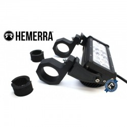 Fixations pour tube 35/50 mm pour barre à leds ou phare à leds HEMERRA