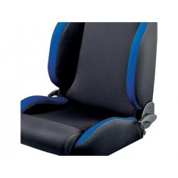 DEFENDER SPARCO seat - black/blue fabric