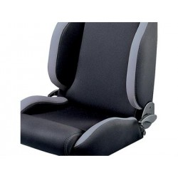 DEFENDER SPARCO seat - black/greyfabric