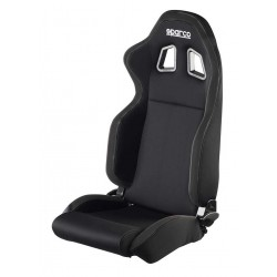 DEFENDER SPARCO seat - black/black fabric
