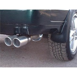 RANGE ROVER P38 4.0/4.6 stainless steel sport exhaust system with twin tailpipe