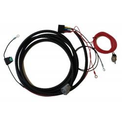 One lamp LAZER harness kit - T16/T24 range
