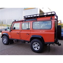 Galerie Safety Devices avec pieds pour DEFENDER 90/110 hard top/SW