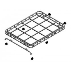 Explorer roof rack with roll cage mount for DEFENDER 90/110 hard top/SW - SAFETY DEVICES