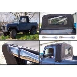 Kit arceaux pour bâche de DEFENDER 90/110/130 pick-up