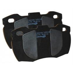 Kit de 4 cales anti-bruit autocollantes pour plaquettes de frein