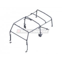 DEFENDER 90 SOFT TOP INT-EXTERNAL ROLL CAGE
