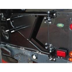 Porte-roue de secours arrière pour DEFENDER et SERIE