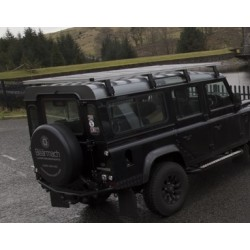 DEFENDER 90 silver roof rack
