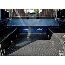 88/109 and DEFENDER 90/110 Rear 3 Piece Acoustic load mat system