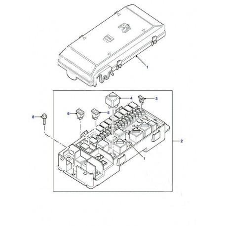 Land Rover Freelander 1 Td4 Boîte à fusibles Relais