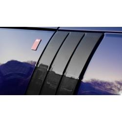 Kit moulures de portes avant en fibre de carbone pour L405 - KAHN