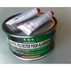 Polyester filler for aluminium panels