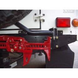 Defender rear bumper bracket for Hi-Lift Jack 1.2m
