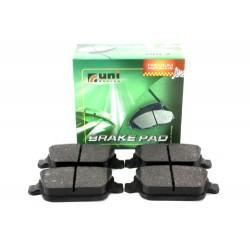 Plaquettes de frein arrière de Freelander 2 2.2 TD4 - UNIBRAKES