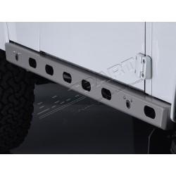 Paire de bas de caisse latéraux graphite BOWLER pour DEFENDER 90