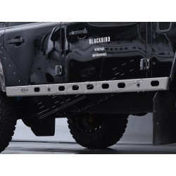 DEFENDER 110 BOWLER graphite lightweight sill protectors