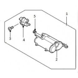 Absorbeur de vapeurs de carburant de RANGE ROVER SPORT V8