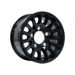 "Bowler 7.5 X 16"" Lightweight Wheels DEFENDER - BLACK"