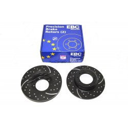 VENTED BRAKE DISCS REAR CDG FOR DEFENDER - EBC