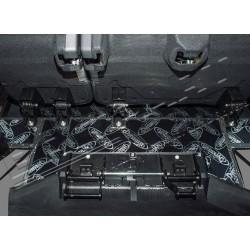 DEFENDER 110 TD4 Station Wagon Rear row floor/under seats sound deadening kit