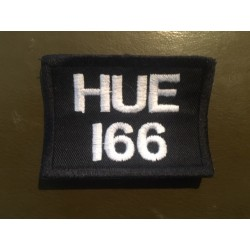 LAND ROVER HUE166 embroidered badge - white/black
