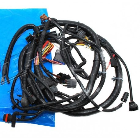 Wire Loom Engine Harness on