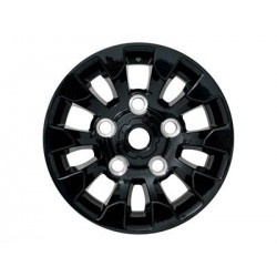 16 x 7 - Sawtooth style alloy wheel for DEFENDER - Black
