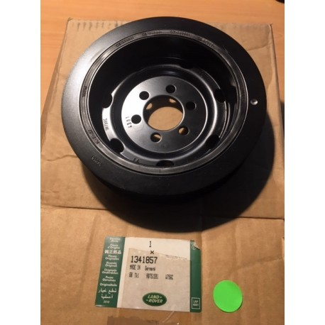 2.7 TDV6 crankshaft pulley - GENUINE