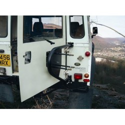 Spare wheel carrier DEFENDER  up to  2002