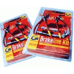 6 Goodridge brake lines kit for Range rover L322