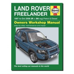 FREELANDER 1 owners workshop manual - HAYNES