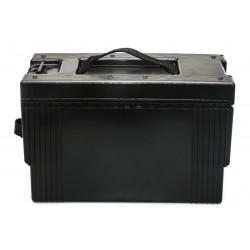 Boîte de transport noire étanche