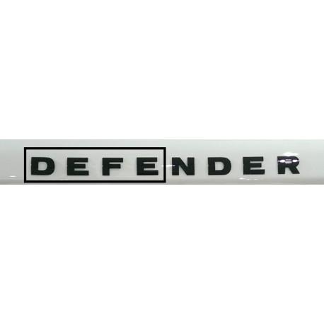 DEFE of DEFENDER bonnet decal -Grey- GENUINE