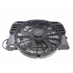 Radiator coolant fan assy RANGE ROVER L322 4.4L V8 -Hella