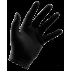 Boîte de 100 gants nitrile noir pour la mécanique